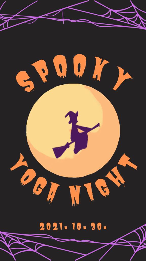 Spooky Yoga Night